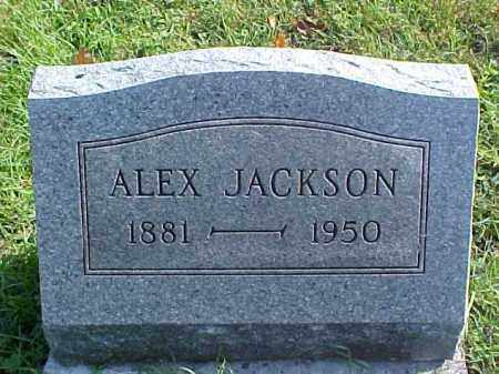 JACKSON, ALEX - Meigs County, Ohio | ALEX JACKSON - Ohio Gravestone Photos