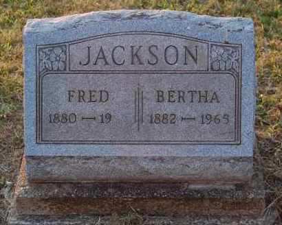 JACKSON, FRED - Meigs County, Ohio | FRED JACKSON - Ohio Gravestone Photos