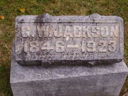 JACKSON, GEORGE W. - Meigs County, Ohio | GEORGE W. JACKSON - Ohio Gravestone Photos