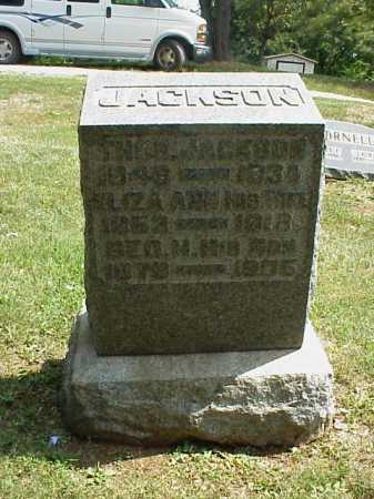 JACKSON, THOMAS - Meigs County, Ohio | THOMAS JACKSON - Ohio Gravestone Photos