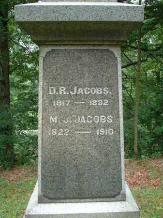 JACOBS, D.R. - Meigs County, Ohio | D.R. JACOBS - Ohio Gravestone Photos