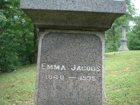 JACOBS, EMMA - Meigs County, Ohio | EMMA JACOBS - Ohio Gravestone Photos