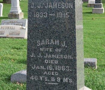 JAMESON, SARAH J. - Meigs County, Ohio | SARAH J. JAMESON - Ohio Gravestone Photos