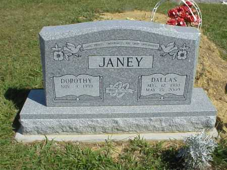 JANEY, DOROTHY - Meigs County, Ohio | DOROTHY JANEY - Ohio Gravestone Photos
