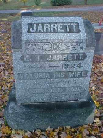JARRETT, VETURIA - Meigs County, Ohio | VETURIA JARRETT - Ohio Gravestone Photos