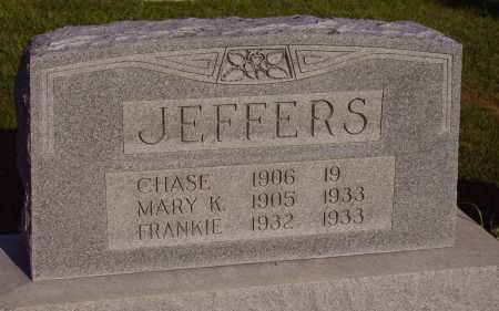 JEFFERS, CHASE E. - Meigs County, Ohio | CHASE E. JEFFERS - Ohio Gravestone Photos
