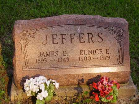 JEFFERS, EUNICE E. - Meigs County, Ohio | EUNICE E. JEFFERS - Ohio Gravestone Photos