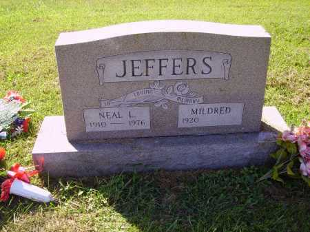 JEFFERS, MILDRED - Meigs County, Ohio | MILDRED JEFFERS - Ohio Gravestone Photos