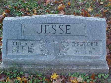 JESSE, CHRISTOPHER - Meigs County, Ohio | CHRISTOPHER JESSE - Ohio Gravestone Photos