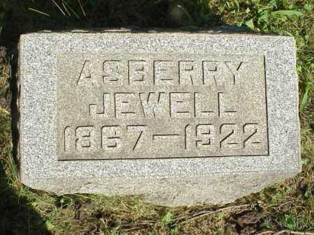JEWELL, ASBERRY - Meigs County, Ohio | ASBERRY JEWELL - Ohio Gravestone Photos