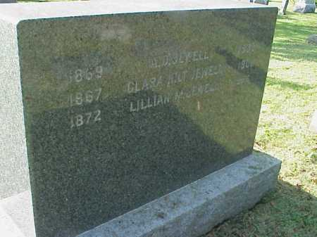 SCOTT JEWELL, LILLIAN - Meigs County, Ohio | LILLIAN SCOTT JEWELL - Ohio Gravestone Photos