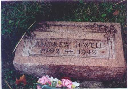 JEWELL, ANDREW - Meigs County, Ohio | ANDREW JEWELL - Ohio Gravestone Photos