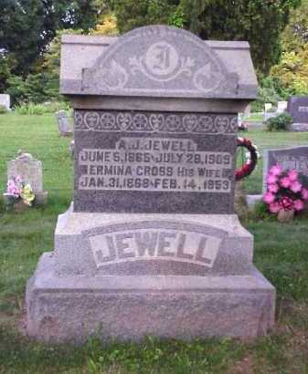 JEWELL, A.J. - Meigs County, Ohio | A.J. JEWELL - Ohio Gravestone Photos