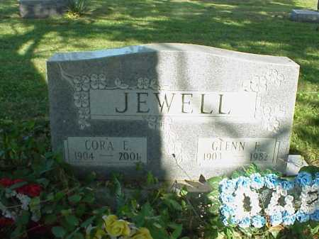 JEWELL, CORA - Meigs County, Ohio | CORA JEWELL - Ohio Gravestone Photos
