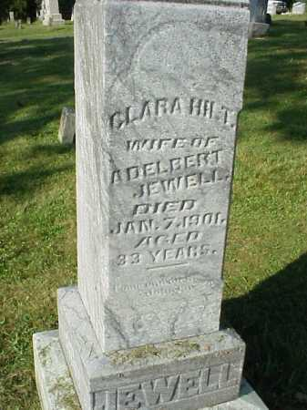 HILT JEWELL, CLARA - Meigs County, Ohio | CLARA HILT JEWELL - Ohio Gravestone Photos