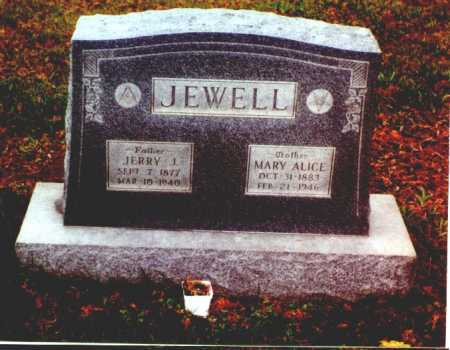 JEWELL, JERRY J. - Meigs County, Ohio | JERRY J. JEWELL - Ohio Gravestone Photos