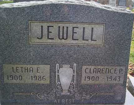 JEWELL, CLARENCE - Meigs County, Ohio | CLARENCE JEWELL - Ohio Gravestone Photos