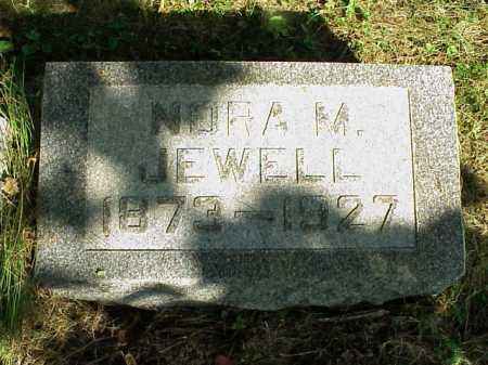 JEWELL, NORA M. - Meigs County, Ohio | NORA M. JEWELL - Ohio Gravestone Photos