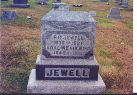 JEWELL, ADALINE - Meigs County, Ohio | ADALINE JEWELL - Ohio Gravestone Photos
