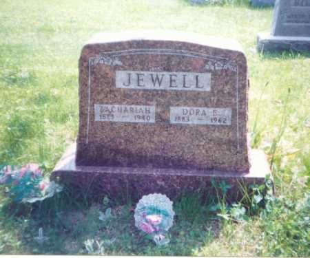 JEWELL, ZACHARIAH - Meigs County, Ohio | ZACHARIAH JEWELL - Ohio Gravestone Photos