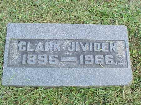 JIVIDEN, CLARK - Meigs County, Ohio | CLARK JIVIDEN - Ohio Gravestone Photos