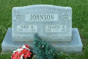 JOHNSON, FRANCES - Meigs County, Ohio | FRANCES JOHNSON - Ohio Gravestone Photos