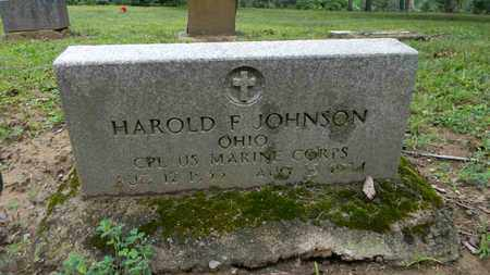 JOHNSON, HAROLD F. - Meigs County, Ohio | HAROLD F. JOHNSON - Ohio Gravestone Photos