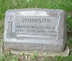 JOHNSON, LILLIAN A. - Meigs County, Ohio | LILLIAN A. JOHNSON - Ohio Gravestone Photos