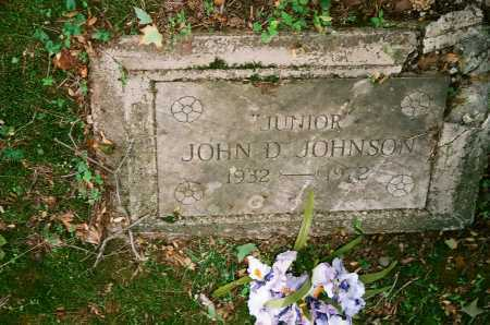 "JOHNSON, JOHN D. ""JUNIOR"" - Meigs County, Ohio 