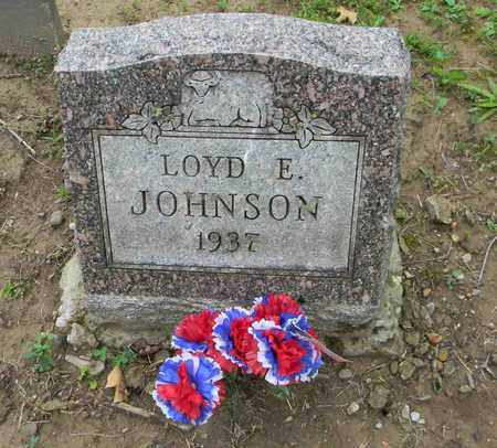 JOHNSON, LOYD E. - Meigs County, Ohio | LOYD E. JOHNSON - Ohio Gravestone Photos