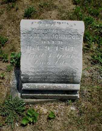 JOHNSON, LEOAITTA S. - Meigs County, Ohio | LEOAITTA S. JOHNSON - Ohio Gravestone Photos