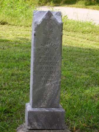 JOHNSON, SAMUEL D. - Meigs County, Ohio | SAMUEL D. JOHNSON - Ohio Gravestone Photos