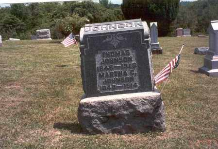 CASTER JOHNSON, MARTHA C. - Meigs County, Ohio | MARTHA C. CASTER JOHNSON - Ohio Gravestone Photos