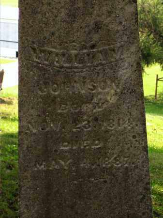 JOHNSON, WILLIAM - Meigs County, Ohio | WILLIAM JOHNSON - Ohio Gravestone Photos