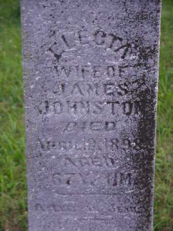JOHNSTON, ELECTA - Meigs County, Ohio | ELECTA JOHNSTON - Ohio Gravestone Photos