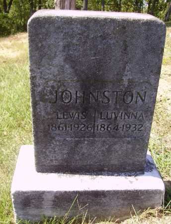 JOHNSTON, LUVINNA - Meigs County, Ohio | LUVINNA JOHNSTON - Ohio Gravestone Photos