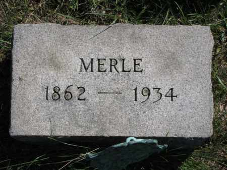 JOHNSTON, MERLE - Meigs County, Ohio | MERLE JOHNSTON - Ohio Gravestone Photos