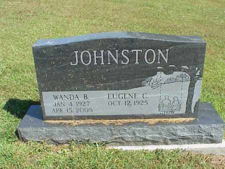 JOHNSTON, EUGENE C. - Meigs County, Ohio | EUGENE C. JOHNSTON - Ohio Gravestone Photos