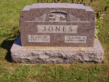 JONES, CLAUDE A. - Meigs County, Ohio | CLAUDE A. JONES - Ohio Gravestone Photos