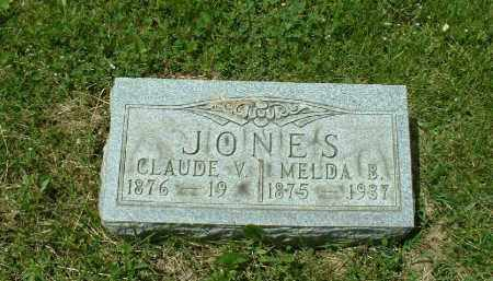JONES, CLAUDE - Meigs County, Ohio | CLAUDE JONES - Ohio Gravestone Photos