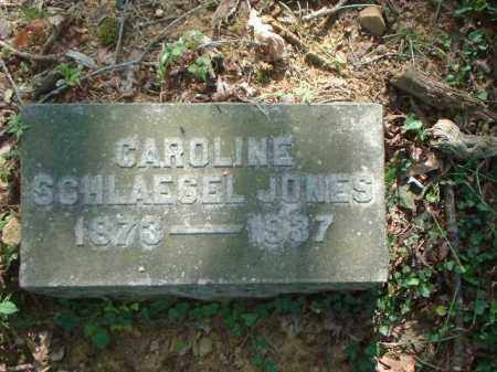 SCHLAEGEL JONES, CAROLINE - Meigs County, Ohio | CAROLINE SCHLAEGEL JONES - Ohio Gravestone Photos