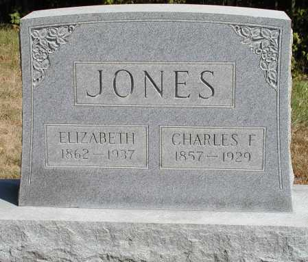 JONES, CHARLES F. - Meigs County, Ohio | CHARLES F. JONES - Ohio Gravestone Photos