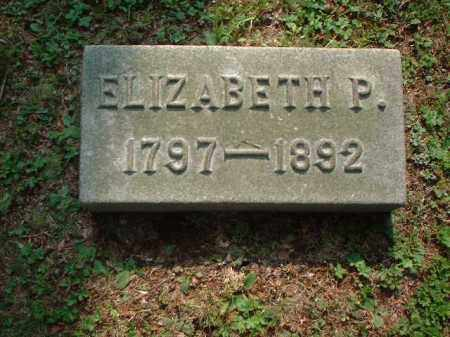 JONES, ELIZABETH P. - Meigs County, Ohio | ELIZABETH P. JONES - Ohio Gravestone Photos
