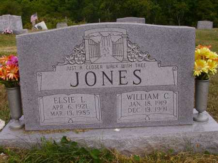 JONES, WILLIAM C. - Meigs County, Ohio | WILLIAM C. JONES - Ohio Gravestone Photos