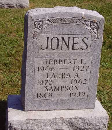 JONES, LAURA A. - Meigs County, Ohio | LAURA A. JONES - Ohio Gravestone Photos