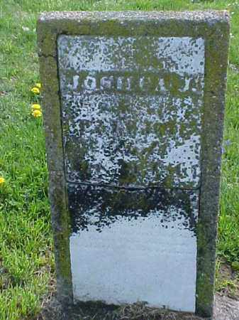 JONES, JOSH?A J. - Meigs County, Ohio | JOSH?A J. JONES - Ohio Gravestone Photos