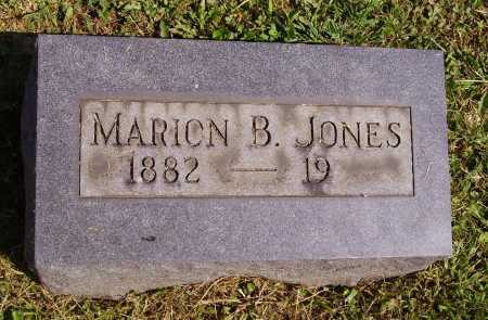 JONES, MARION B. - Meigs County, Ohio | MARION B. JONES - Ohio Gravestone Photos