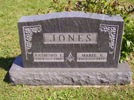 JONES, RAYMOND E. - Meigs County, Ohio | RAYMOND E. JONES - Ohio Gravestone Photos