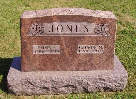 WOODS JONES, ROMA F. - Meigs County, Ohio | ROMA F. WOODS JONES - Ohio Gravestone Photos