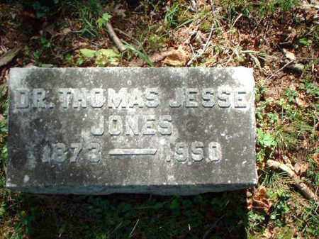 JONES, THOMAS JESSE DR. - Meigs County, Ohio | THOMAS JESSE DR. JONES - Ohio Gravestone Photos
